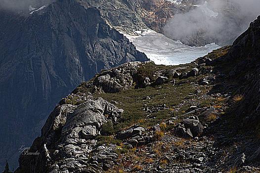Shuksan Glacier by Lynn Bawden