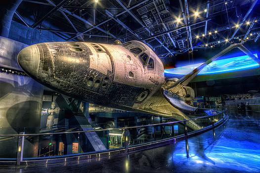 Shuttle Atlantis by Brad Granger
