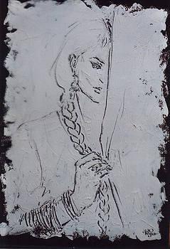 Shy Behind Veil by Mohd Raza-ul Karim