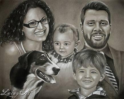 Shyla's family by Alaina Ferguson