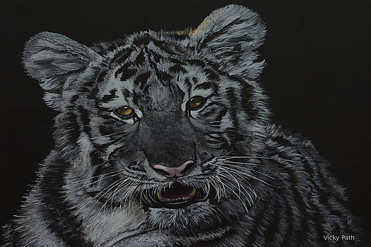 Siberian Tiger by Vicky Path