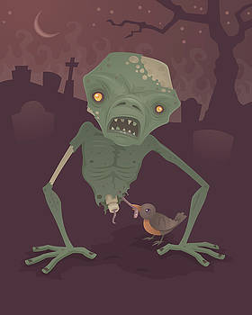 Sickly Zombie by John Schwegel