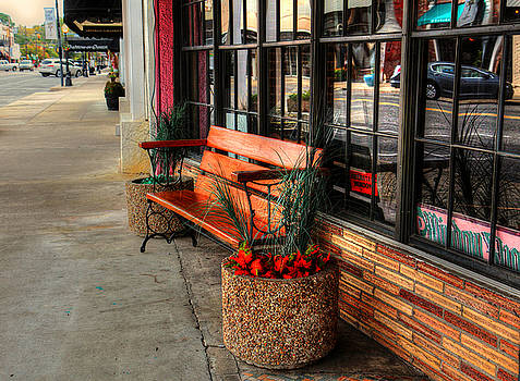 Side Street Bench by Ester  Rogers