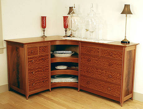 Sideboard     part of Formal Dining room project by Scott Reuman