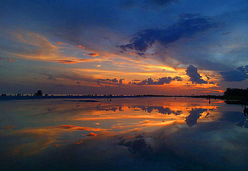 Siesta Key Sunset 4 by Dyana Jean