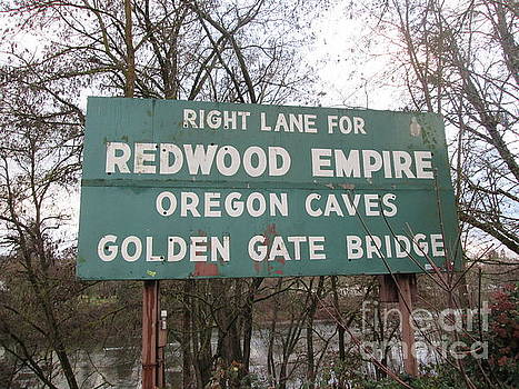 Sign in Grants Pass Oregon by Marie Neder