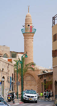 Siksik Mosque in Jaffa, Israel  by Ilan Rosen