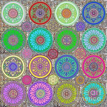 SILBERZWEIG - Karma Mandela - Amethyst Lime - by Sandra Silberzweig