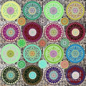SILBERZWEIG - Karma Mandela - Celadon Rose - by Sandra Silberzweig