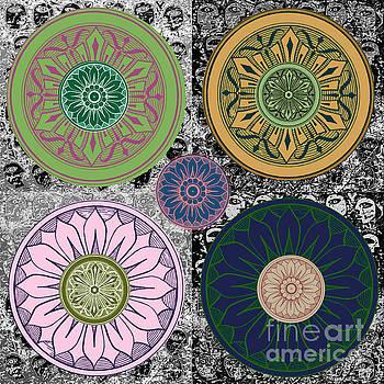 SILBERZWEIG - Karma Mandela - Rose Jade - by Sandra Silberzweig
