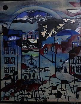 Silence by Adalardo Nunciato  Santiago