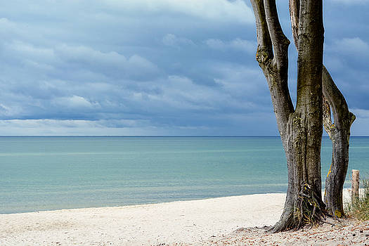 Silence......baltic sea Germany by Claudia Moeckel