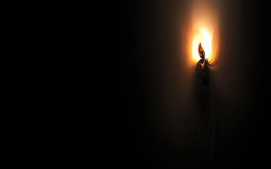 Silence Of A Candle by GJ Blackman