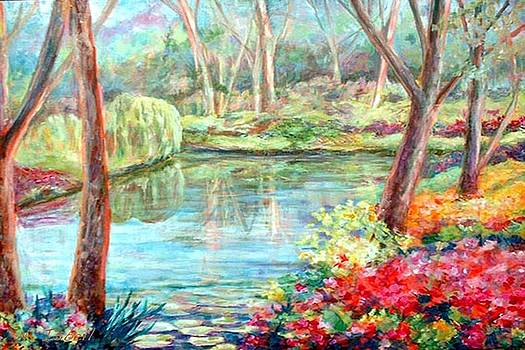 Silent Pond by Nancy Isbell