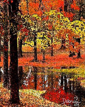 Silent Reflection by Deborah Rosier