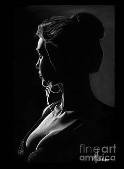 Silhouette of Junice by Murphy Elliott
