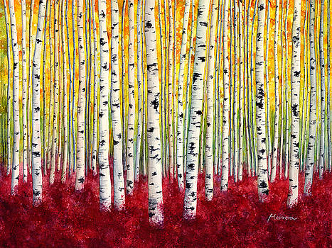 Hailey E Herrera - Silver Birches