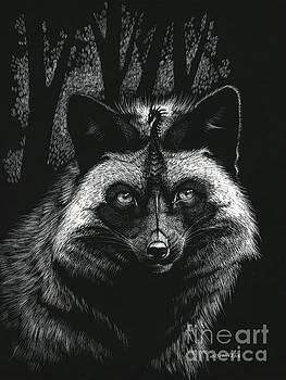 Silver Dragon Fox by Stanley Morrison