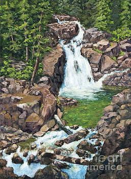 Silver Falls by Jim Krug
