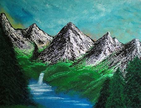 Silver Falls by Scott Haley