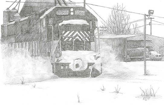 Silver Snow by BJ Shine
