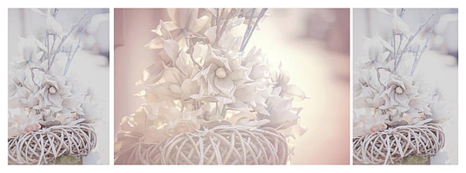 Jenny Rainbow - Silver Vintage Dream. Triptych
