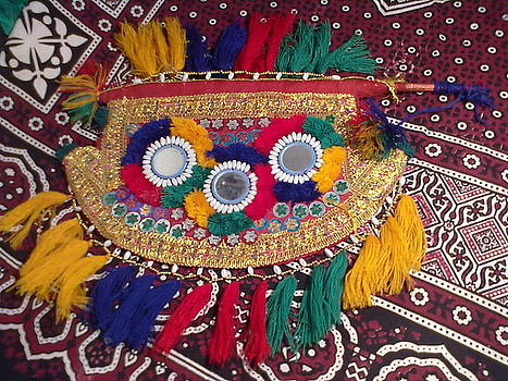 Sindhi Hand Fan by Muhammad arif Channa -MAC-
