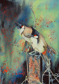 Sing Me A Song Painting by Janet Pancho Gupta