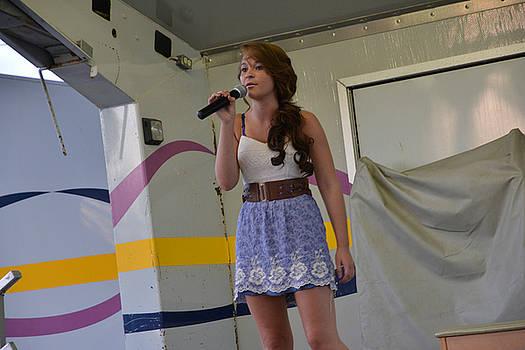 Singer # 20b by Randall Branham