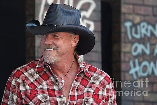 Singer and Actor Trace Adkins by Concert Photos