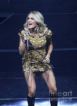 Singer Carrie Underwood by Concert Photos
