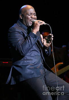 Singer Will Downing by Concert Photos