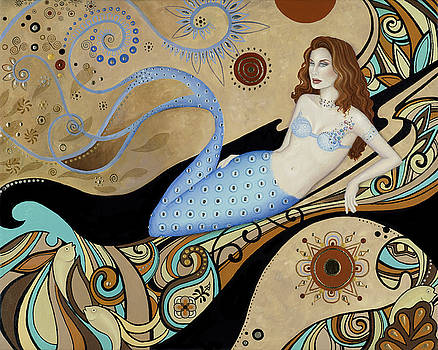 Siren by the Sea by BK Lusk