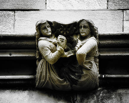 Sisters With a Cause Gargoyle V.2 by Joseph Duba