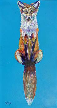 Sitting Fox by Lee Walker