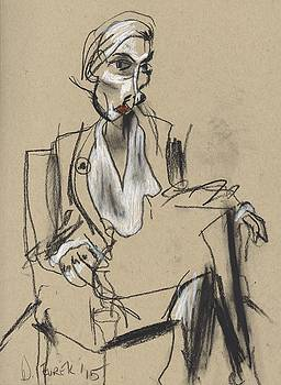 Sitting Scarlette by Drew Eurek
