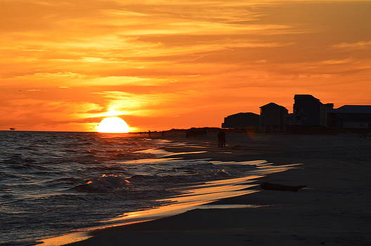 Sizzling Sunset by Sue Houston