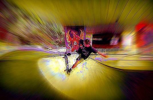 Skateboarding by Lori Seaman