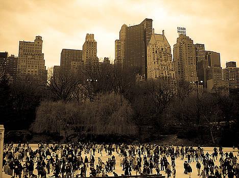 Skating Central at the Park by Joshua Francia