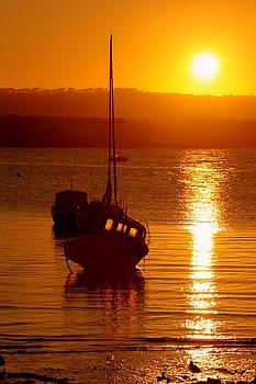 Martina Fagan - Skerries Harbour October Sunset