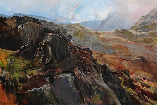Harry Robertson - Sketch in Snowdonia