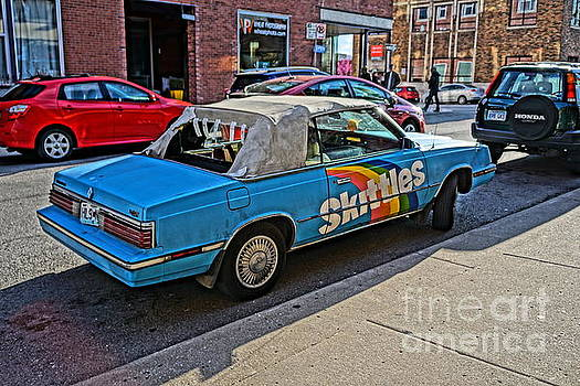 Skittles Car by Bob Brents