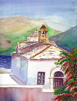 Skopelos church by Georgia Pistolis