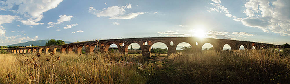 Skopje Aqueduct by Darkocv