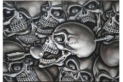 Skull and Arrow by Terry Stephens