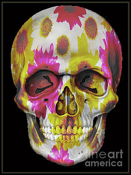 Skull Flowers by Christos Koudellaris
