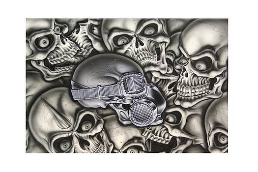 Skull Is A Gas by Terry Stephens