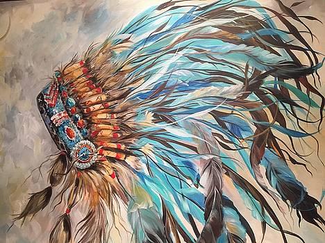 Sky feather by Heather Roddy