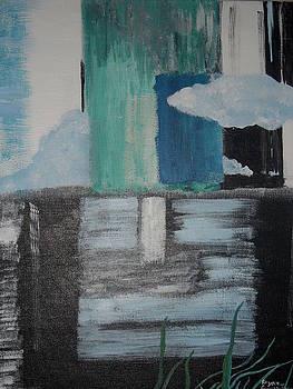 Sky Meets Green by Rozenia Cunningham