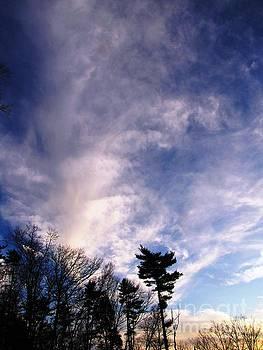 Sky Study 2 3/11/16 by Melissa Stoudt
